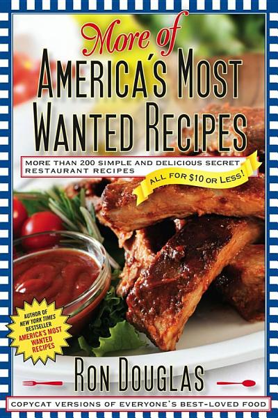 Download More of America s Most Wanted Recipes Book