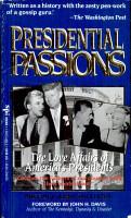 Presidential Passions PDF