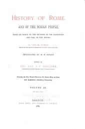 History of Rome, and of the Roman People: From Its Origin to the Invasion of the Barbarians and Fall of the Empire, Volume 3, Part 1