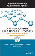 WiFi  WiMAX  and LTE Multi hop Mesh Networks PDF