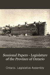Sessional Papers - Legislature of the Province of Ontario: Volume 9
