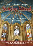 2016 St  Joseph Sunday Missal Book
