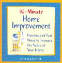 10 Minute Home Improvement PDF
