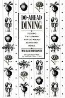 Do-Ahead Dining