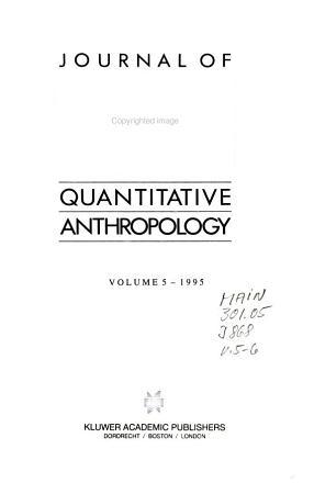 Journal of Quantitative Anthropology PDF