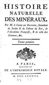 Histoire naturelle des minéraux: Volume1