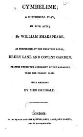The British Theatre: Or, A Collection of Plays, which are Acted at the Theatres Royal, Drury Lane, Convent Gardin, Haymarket, and Lyceum, Volume 6