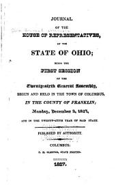 Journal of the House of Representatives of the State of Ohio: Volume 26