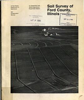 Soil Survey of Ford County  Illinois Book