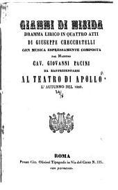 Gianni di Nisida: dramma lirico in quattro atti : da rappresentarsi al Teatro di Apollo l'autunno del 1860