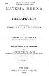 Materia Medica and Therapeutics: Ed. and Adapted to the U.S. Pharmacopoeia, Volume 1, Part 2