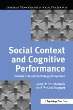 Social Context and Cognitive Performance