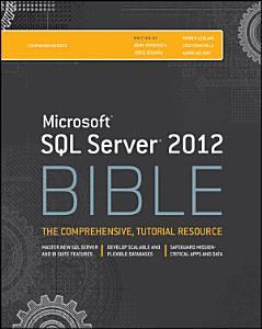 Microsoft SQL Server 2012 Bible PDF