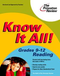 Know It All  Grades 9 12 Reading PDF
