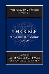 The New Cambridge History of the Bible PDF
