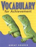 Vocabulary for Achievement PDF