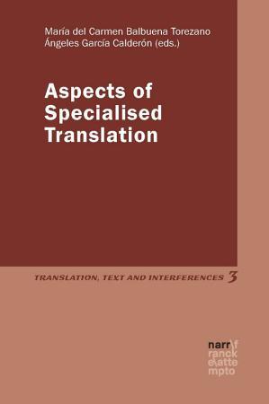Aspects of Specialised Translation PDF