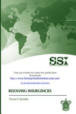 Resolving Insurgencies PDF