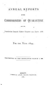 Documents of the Assembly of the State of New York: Volume 18