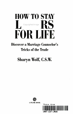 How to Stay Lovers for Life PDF