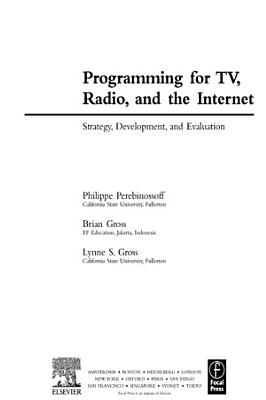 Programming for TV  Radio  and the Internet