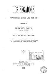 Los Segadors: drama histórich en tres actes y en vers