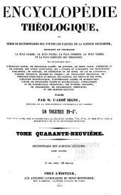 Dictionnaire des sciences occultes ...