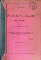 A Sketch of the Physical Geography of Iowa PDF
