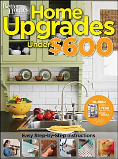 Home Upgrades Under  600  Better Homes and Gardens  Book