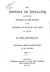 The History of England: From the First Invasion by the Romans to the Accession of William and Mary in 1688, Volumes 5-6