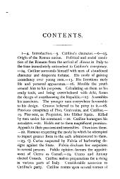 Sallust's Catiline war: with vocabulary