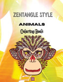 Zentangle Style Animals Coloring Book PDF