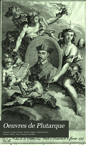 Oeuvres de Plutarque: Volume5