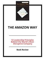 The Amazon Way  Book Review PDF
