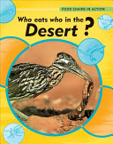 Who Eats Who in the Desert  PDF