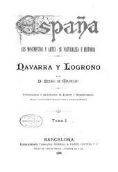 Navarra y Logroño: Volumen 1