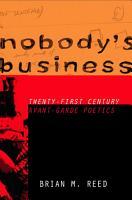 Nobody   s Business PDF