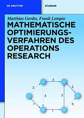 Mathematische Optimierungsverfahren des Operations Research PDF