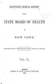 Annual Report: Volume 11, Part 2