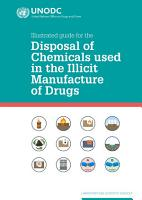 Illustrated Guide for the Disposal of Chemicals Used In the Illicit Manufacture Of Drugs PDF