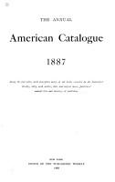 The Annual American Catalogue PDF