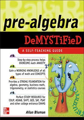 Pre Algebra Demystified