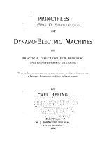 Principles of Dynamo-eletric Machines, and Practical Directions for Designing and Constructing Dynamos