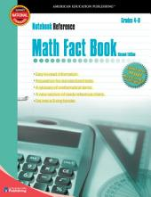 Math Fact Book, Grades 4 - 8: Second Edition