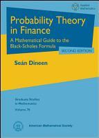 Probability Theory in Finance PDF