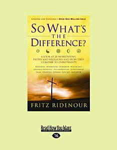 So What s the Difference  Book