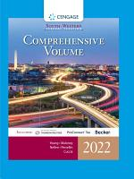 South-Western Federal Taxation 2022: Comprehensive
