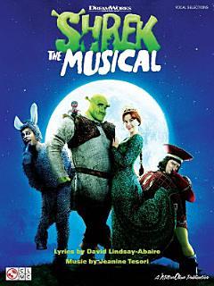 Shrek the Musical  Songbook  Book