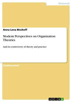 Modern Perspectives on Organization Theories PDF