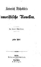 Sämmtliche Novellen: Humoristische Novellen ; 1, Band 1